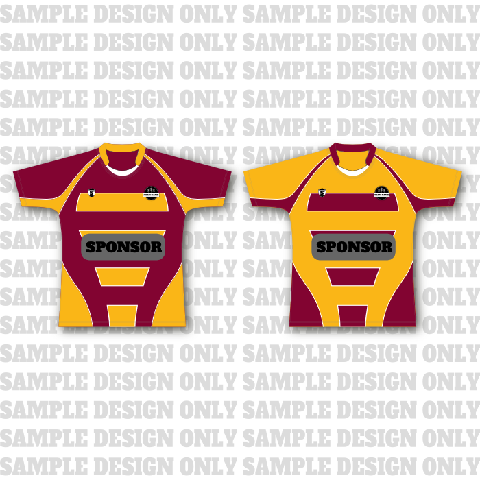 Deluxe Reversible Rugby Jersey (sublimated) - Squad Sport e3711a725